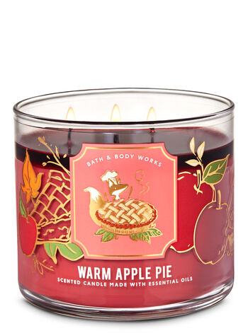 Warm Apple Pie 3-Wick Candle