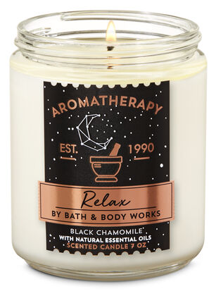 Black Chamomile Single Wick Candle