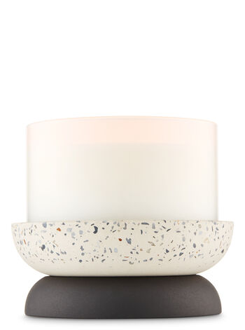 Dual-Purpose Resin Stone 3-Wick Candle Holder
