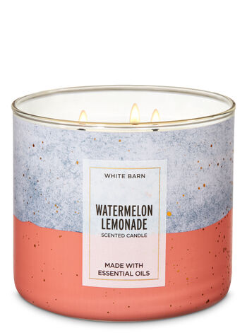 White Barn Watermelon Lemonade 3-Wick Candle - Bath And Body Works