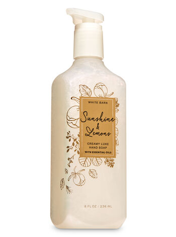 Sunshine & Lemons Creamy Luxe Hand Soap - Bath And Body Works