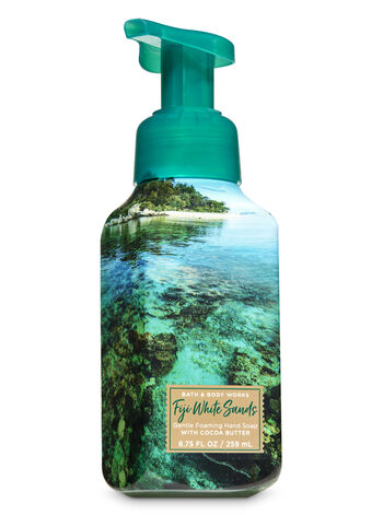 Fiji White Sands Gentle Foaming Hand Soap - Bath And Body Works