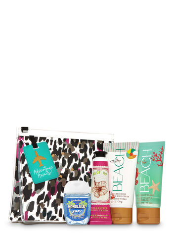 Beach Vibes Mini Cosmetic Bag Gift Set