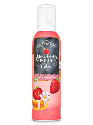 Strawberry Pound Cake Whipped Body Mousse