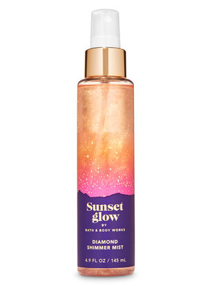 Sunset Glow Diamond Shimmer Mist