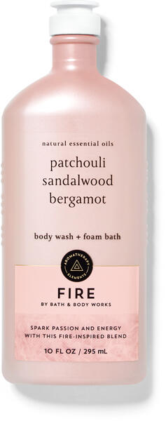 Fire Body Wash and Foam Bath