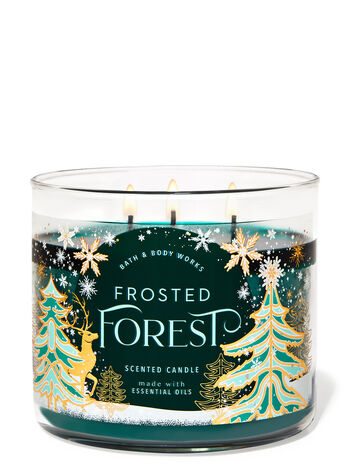 Frosted Forest 3-Wick Candle