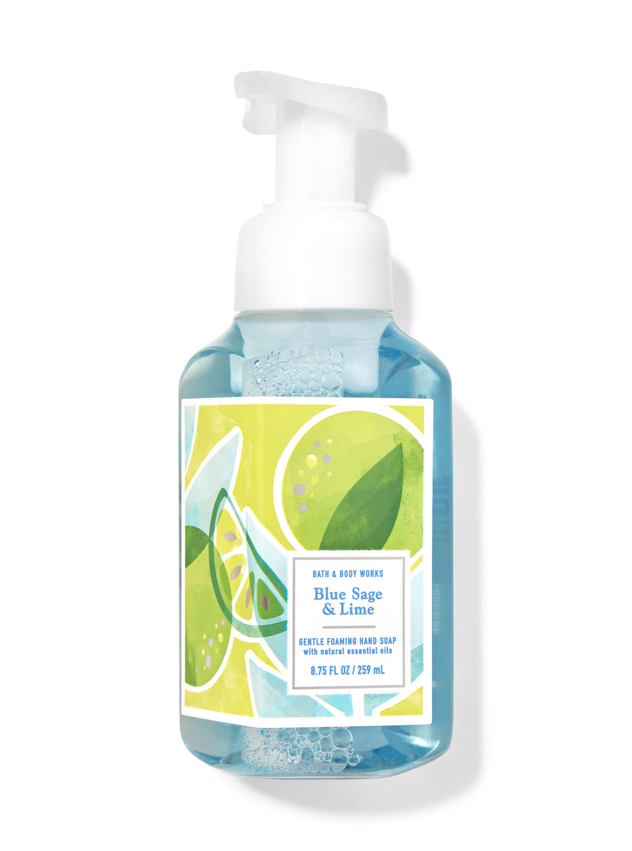 Blue Sage & Lime Gentle Foaming Hand Soap
