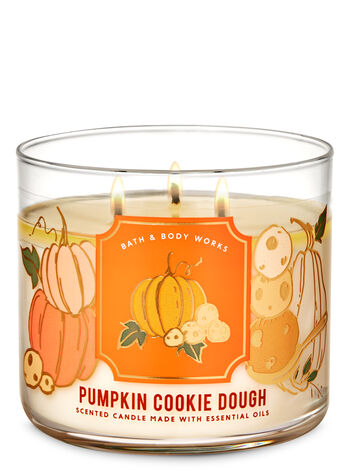 Pumpkin Cookie Dough 3-Wick Candle