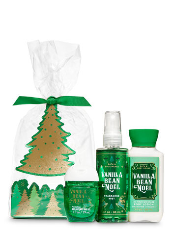 Vanilla Bean Noel Tree Mini Gift Set - Bath And Body Works
