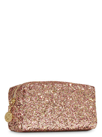 Rose Gold Glitter Cosmetic Bag - Bath And Body Works