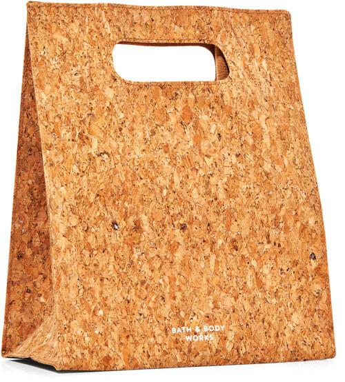 Glitter Cork Gift Bag