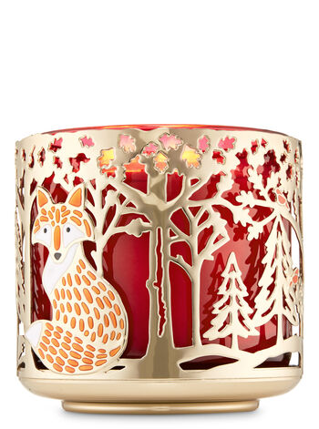 Woodland Critters 3-Wick Candle Holder - Bath And Body Works