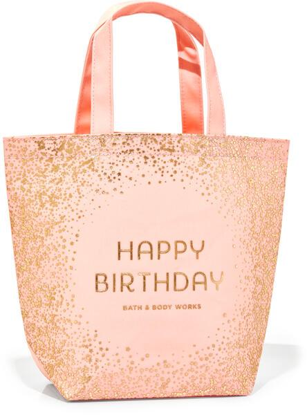 Birthday Canvas Gift Bag