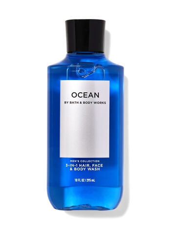 Ocean 3-in-1 Hair, Face & Body Wash