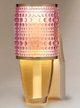 Pink Hobnail Nightlight Wallflowers Fragrance Plug