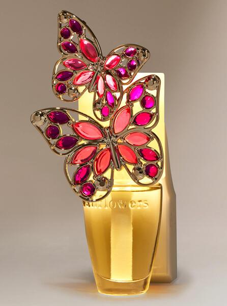 Gemstone Butterfly Nightlight Wallflowers Fragrance Plug