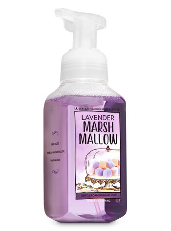 Lavender Marshmallow Gentle Foaming Hand Soap - Bath And Body Works