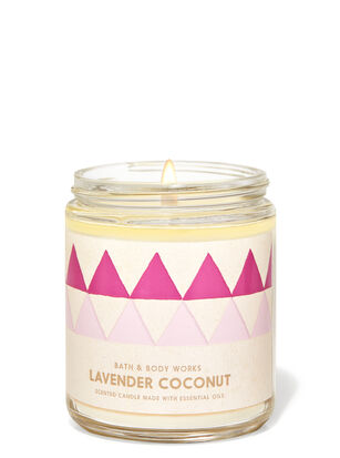 Lavender Coconut Single Wick Candle