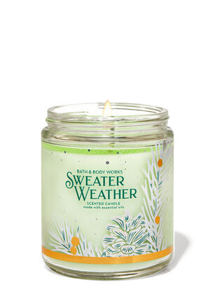 Sweater Weather Single Wick Candle