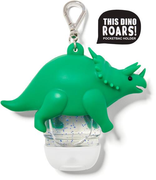Noise-Making Triceratops PocketBac Holder
