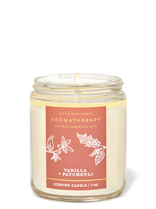 Vanilla Patchouli Single Wick Candle