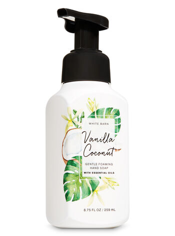 Vanilla Coconut Gentle Foaming Hand Soap - Bath And Body Works
