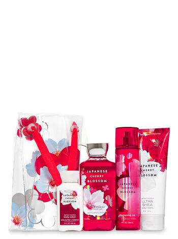 Japanese Cherry Blossom Gift Bag Set - Bath And Body Works