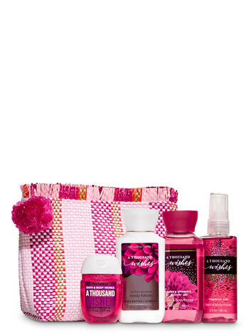 A Thousand Wishes Woven Cosmetic Bag Gift Set