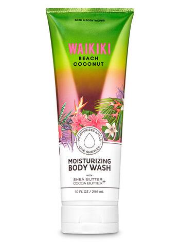 Waikiki Beach Coconut Moisturizing Body Wash - Bath And Body Works