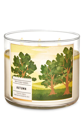 Autumn 3-Wick Candle