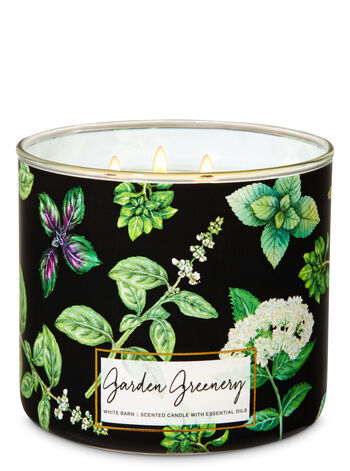 Garden Greenery 3-Wick Candle - Bath And Body Works