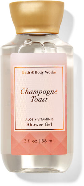 Champagne Toast Travel Size Shower Gel