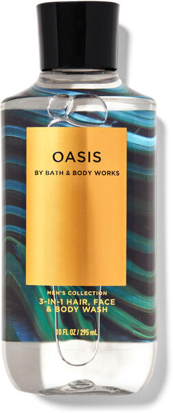 Oasis 3-in-1 Hair, Face & Body Wash