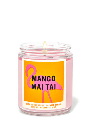 Mango Mai Tai Single Wick Candle