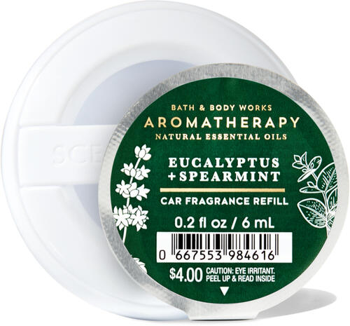 Eucalyptus Spearmint Car Fragrance Refill