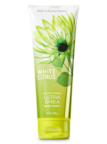 Signature Collection White Citrus Ultra Shea Body Cream - Bath And Body Works