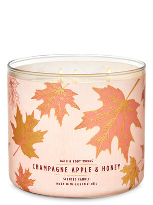 Champagne Apple & Honey 3-Wick Candle