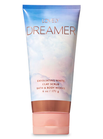 Signature Collection Lovely Dreamer Exfoliating White Clay Body Scrub - Bath And Body Works
