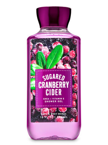 Sugared Cranberry Cider Shower Gel - Bath And Body Works