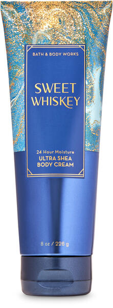 Sweet Whiskey Ultra Shea Body Cream