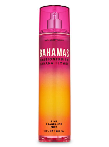 Bahamas Passionfruit & Banana Flower Fine Fragrance Mist - Bath And Body Works