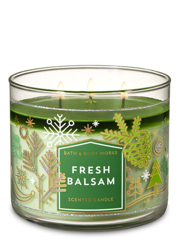 Fresh Balsam 3 Wick Candle Bath Amp Body Works