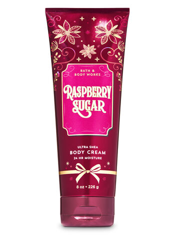 Raspberry Sugar Ultra Shea Body Cream - Bath And Body Works
