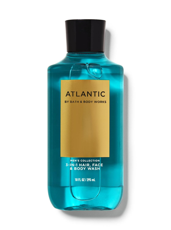 Atlantic 3-in-1 Hair, Face & Body Wash