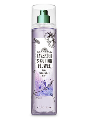 Signature Collection Lavender & Cotton Flower Fine Fragrance Mist - Bath And Body Works