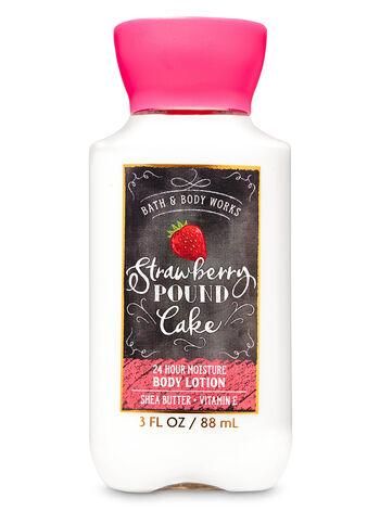 Strawberry Pound Cake Travel Size Body Lotion