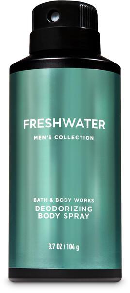 Freshwater Deodorizing Body Spray