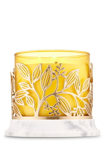 Golden Branches 3-Wick Candle Holder - Bath And Body Works