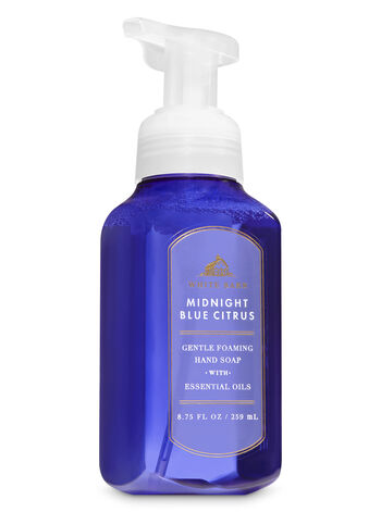 White Barn Midnight Blue Citrus Gentle Foaming Hand Soap - Bath And Body Works